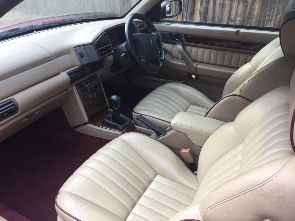 1998 Rover 800 820 Sterling Coupe For Sale (picture 3 of 6)