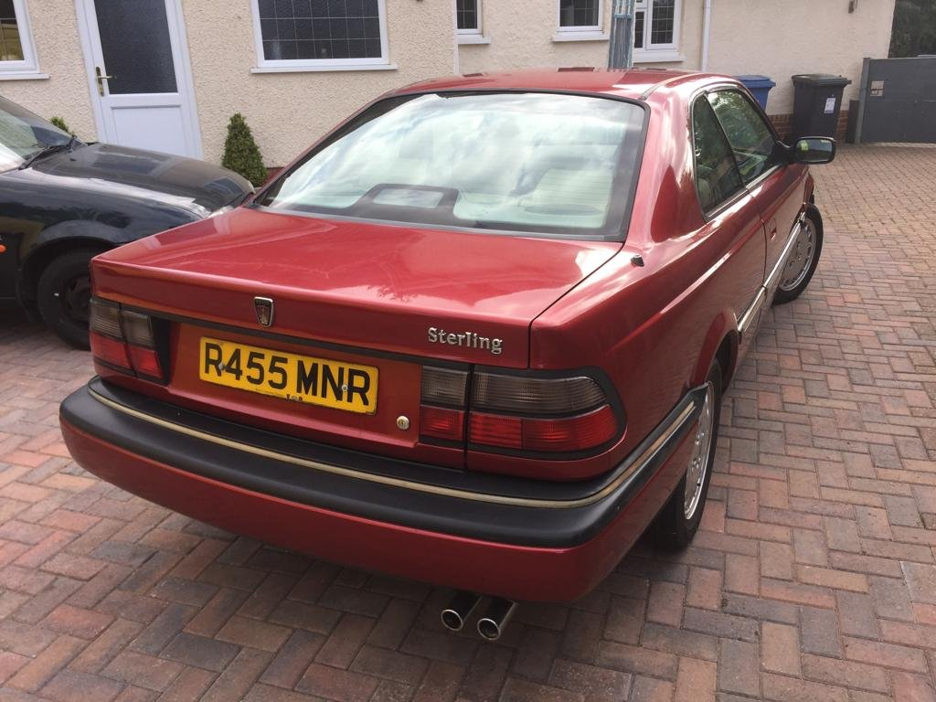 1998 Rover 800 820 Sterling Coupe For Sale (picture 6 of 6)