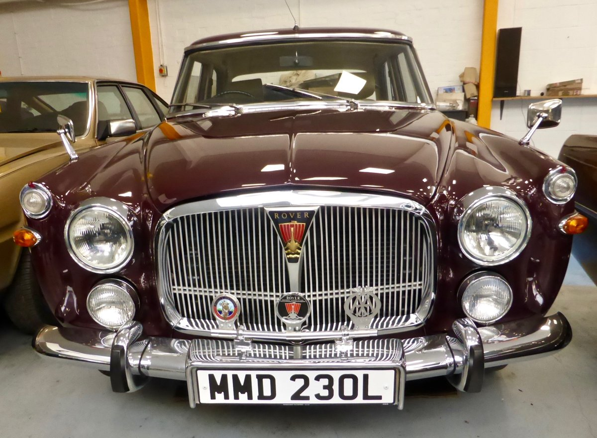 1973 Rover P5B 3.5 L auto Saloon SOLD (picture 1 of 4)