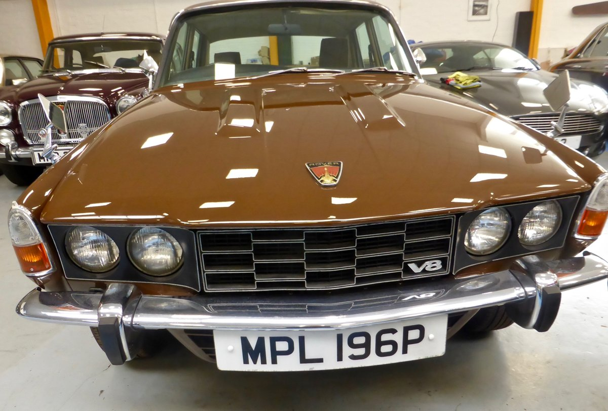 1976 Rover P6B 3500 S Saloon For Sale (picture 1 of 5)