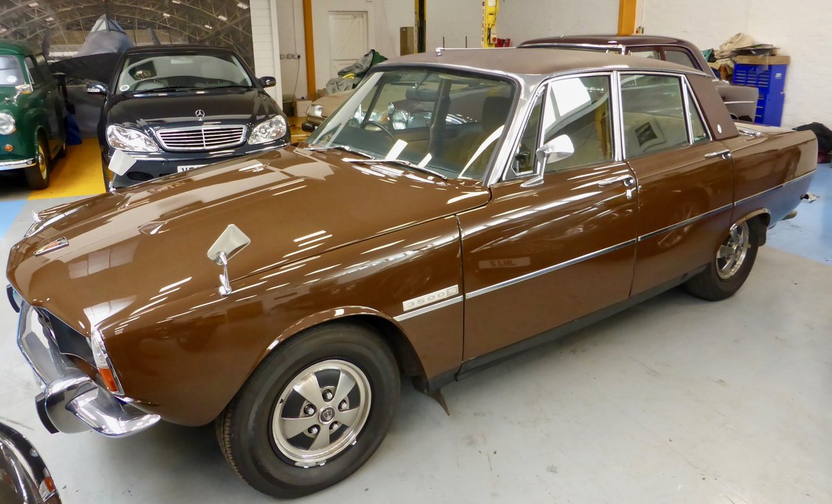 1976 Rover P6B 3500 S Saloon For Sale (picture 2 of 5)