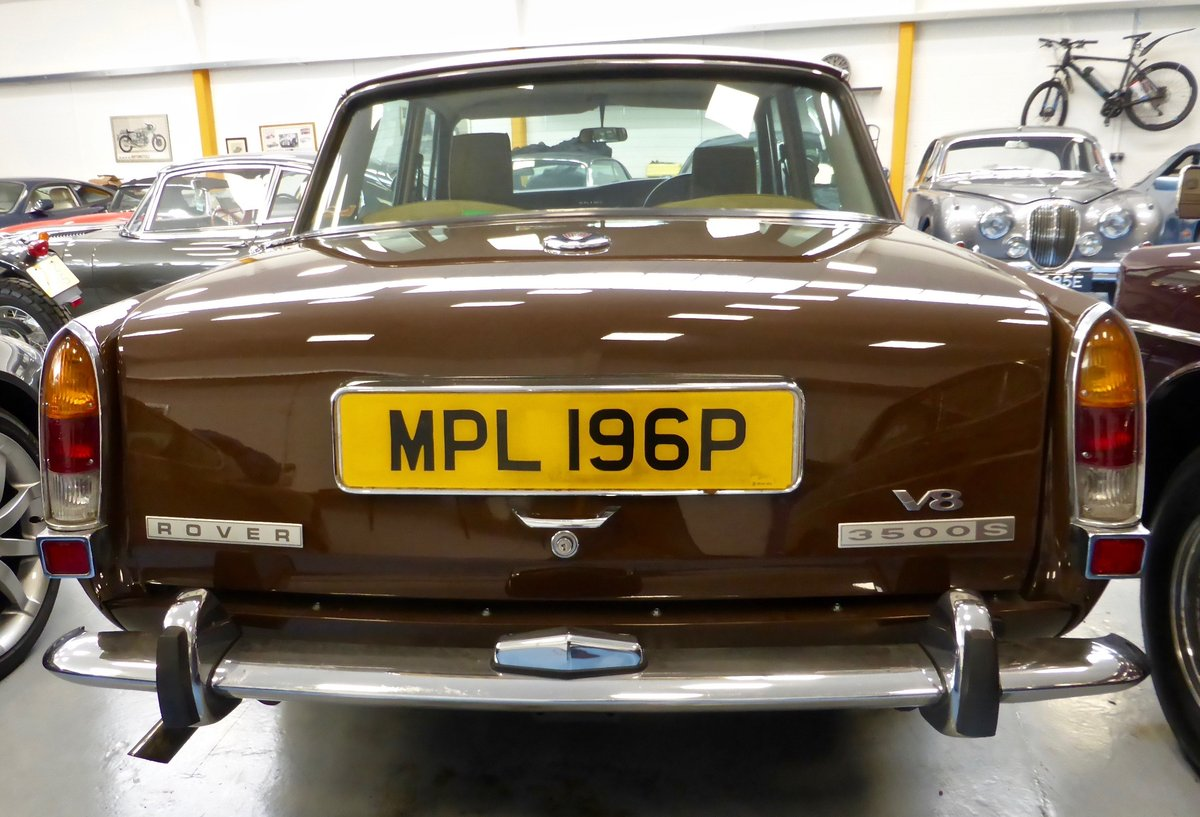 1976 Rover P6B 3500 S Saloon For Sale (picture 3 of 5)
