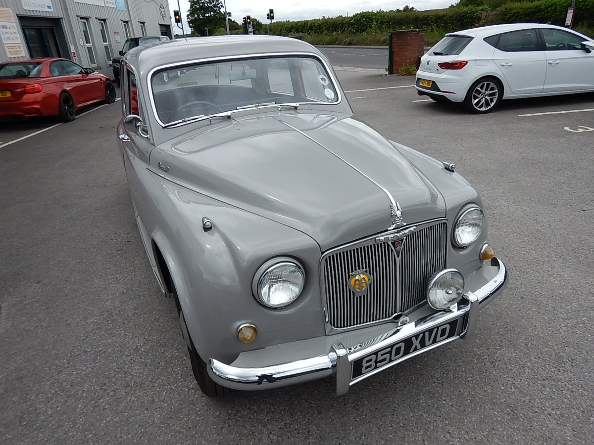 1955 ROVER 90 P4 ~ 2.6 Litre Six Cylinder ~  SOLD (picture 2 of 6)