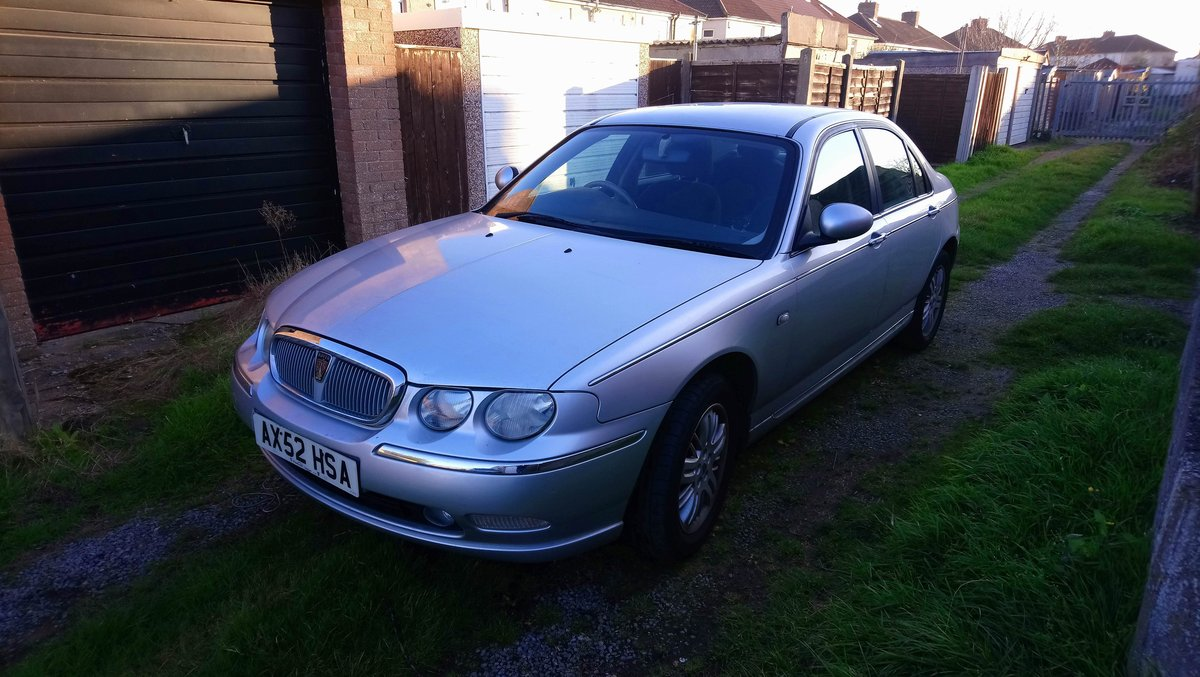 2003 Rover 75 1.8t Club SE turbo low miles SOLD (picture 1 of 6)