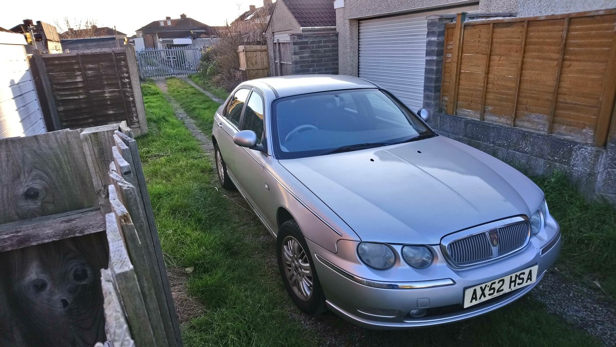 2003 Rover 75 1.8t Club SE turbo low miles SOLD (picture 2 of 6)