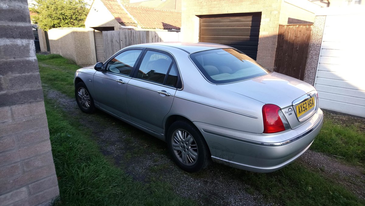 2003 Rover 75 1.8t Club SE turbo low miles SOLD (picture 3 of 6)