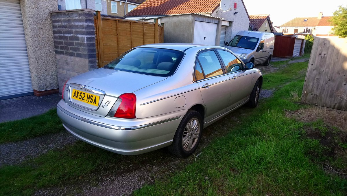 2003 Rover 75 1.8t Club SE turbo low miles SOLD (picture 4 of 6)
