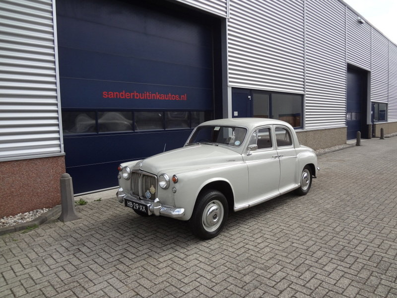 Rover P4 100 RHD 1960 SOLD (picture 1 of 6)