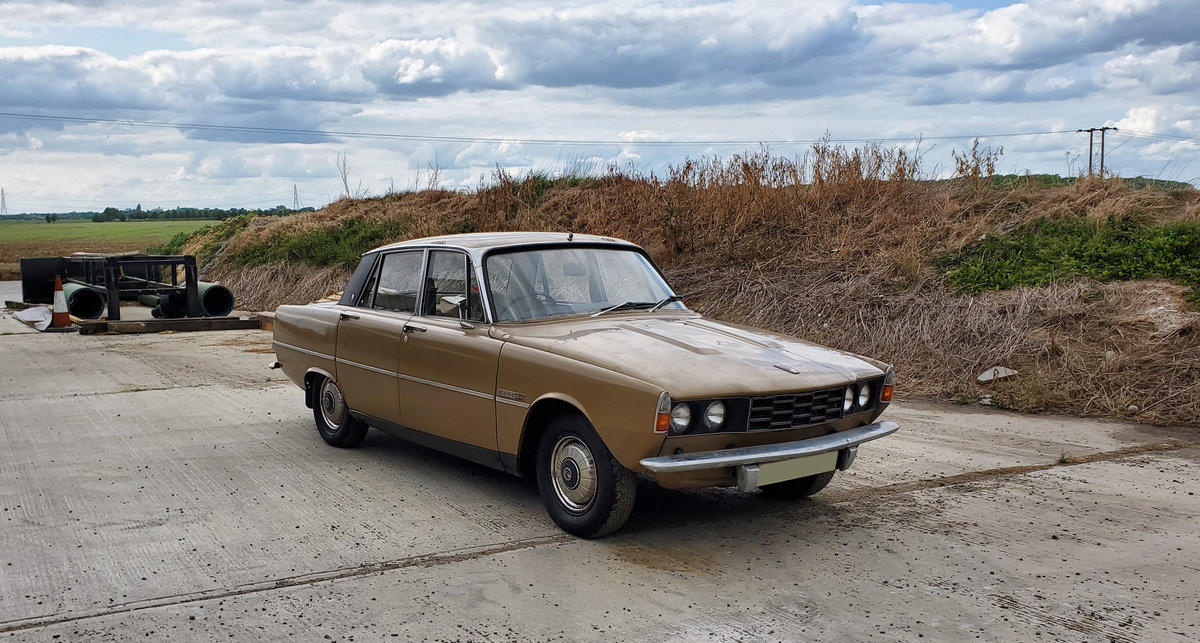 1975 Rover P6 - One owner from new- Genuine garage find For Sale (picture 1 of 6)
