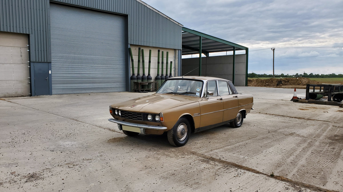 1975 Rover P6 - One owner from new- Genuine garage find For Sale (picture 2 of 6)