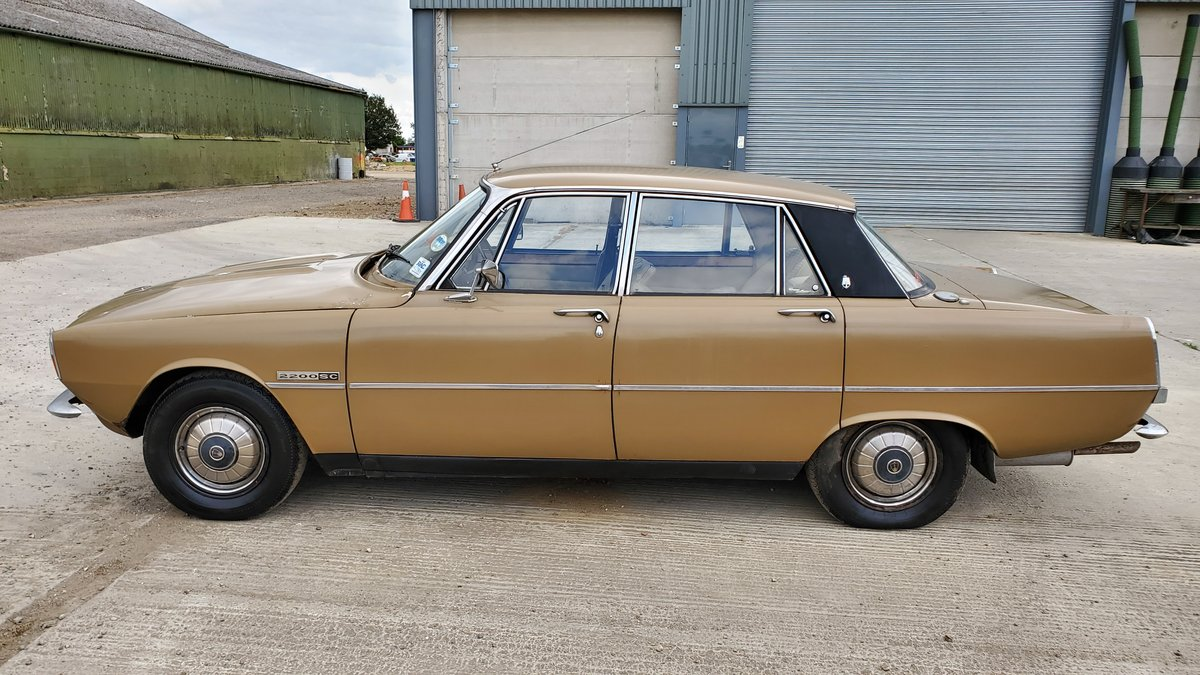 1975 Rover P6 - One owner from new- Genuine garage find For Sale (picture 3 of 6)