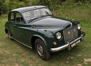 1956 ROVER P4 75 Honest, well looked after example For Sale