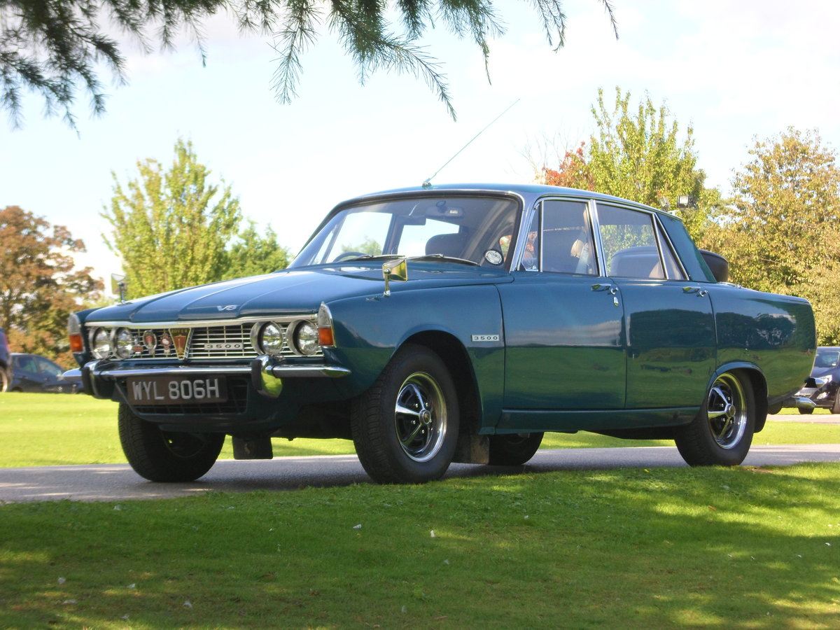 Rover P6 3500 Series One  Automatic 1969 For Sale (picture 1 of 5)