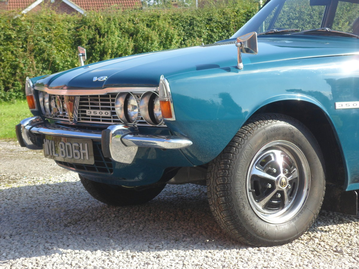 Rover P6 3500 Series One  Automatic 1969 For Sale (picture 3 of 5)