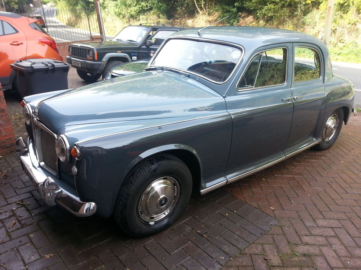 Rover P4 110 (overdrive) 1963 SOLD (picture 1 of 6)
