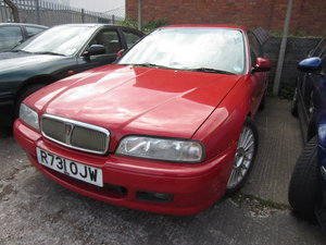 1998 Rover 600 2.0 petrol offered FOR SPARES OR REPAIR