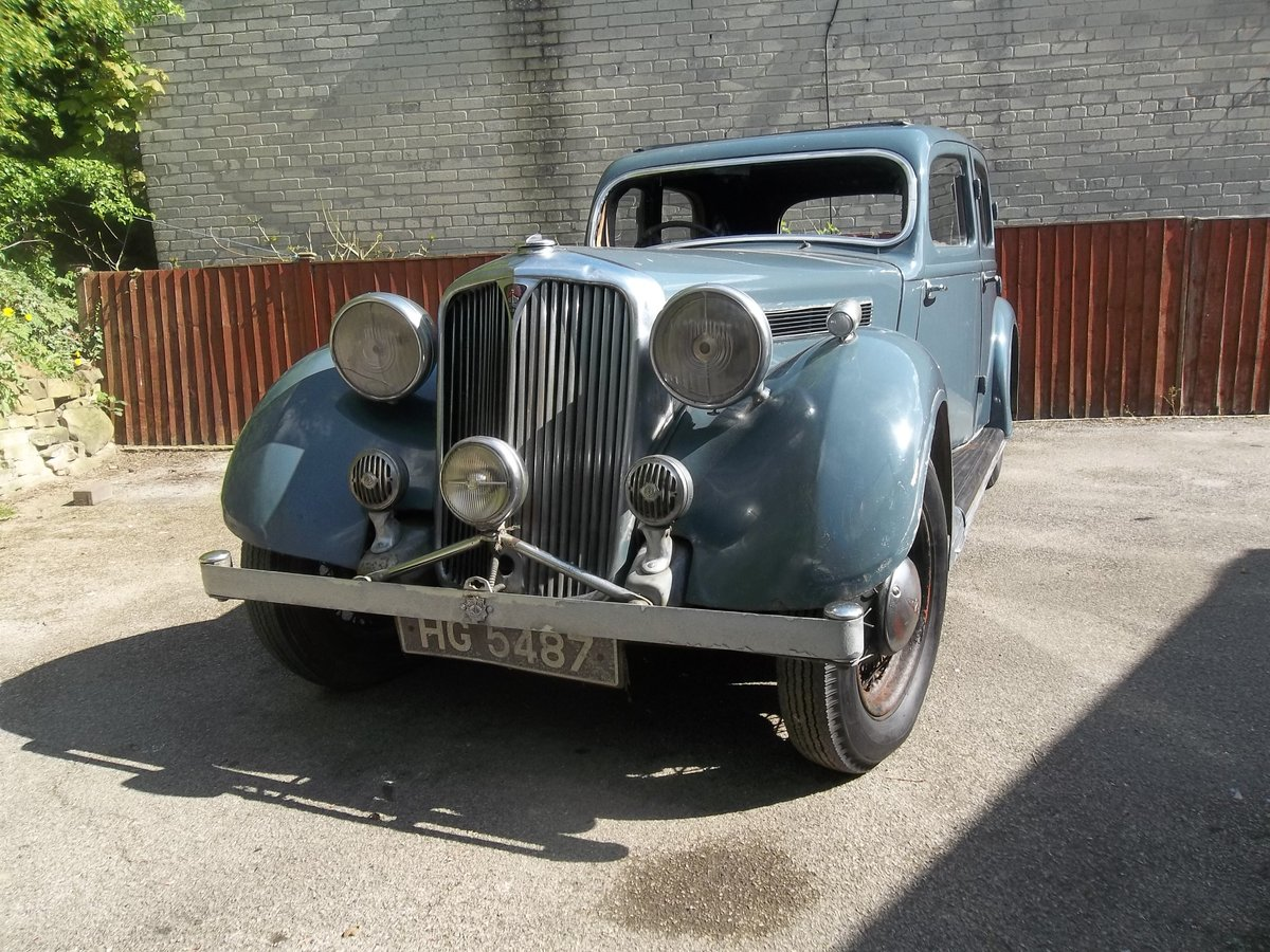 1937 Rover Speed 20 For Sale (picture 2 of 6)