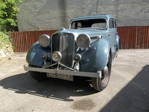 1937 Rover Speed 20 For Sale