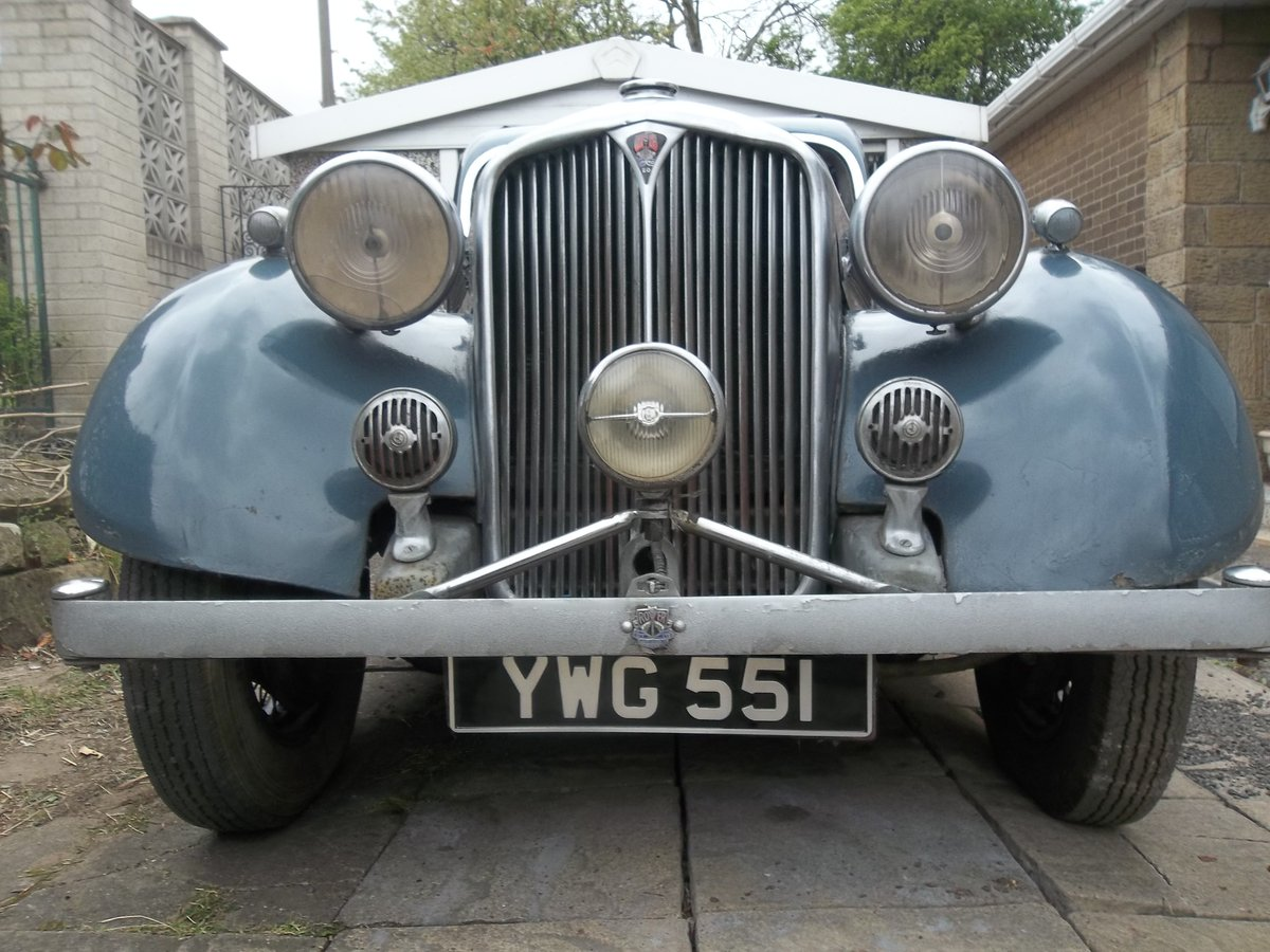 1937 Rover Speed 20 For Sale (picture 4 of 6)