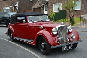 1939 Rover 14/6 P2 Tickford DHC For Sale by Auction