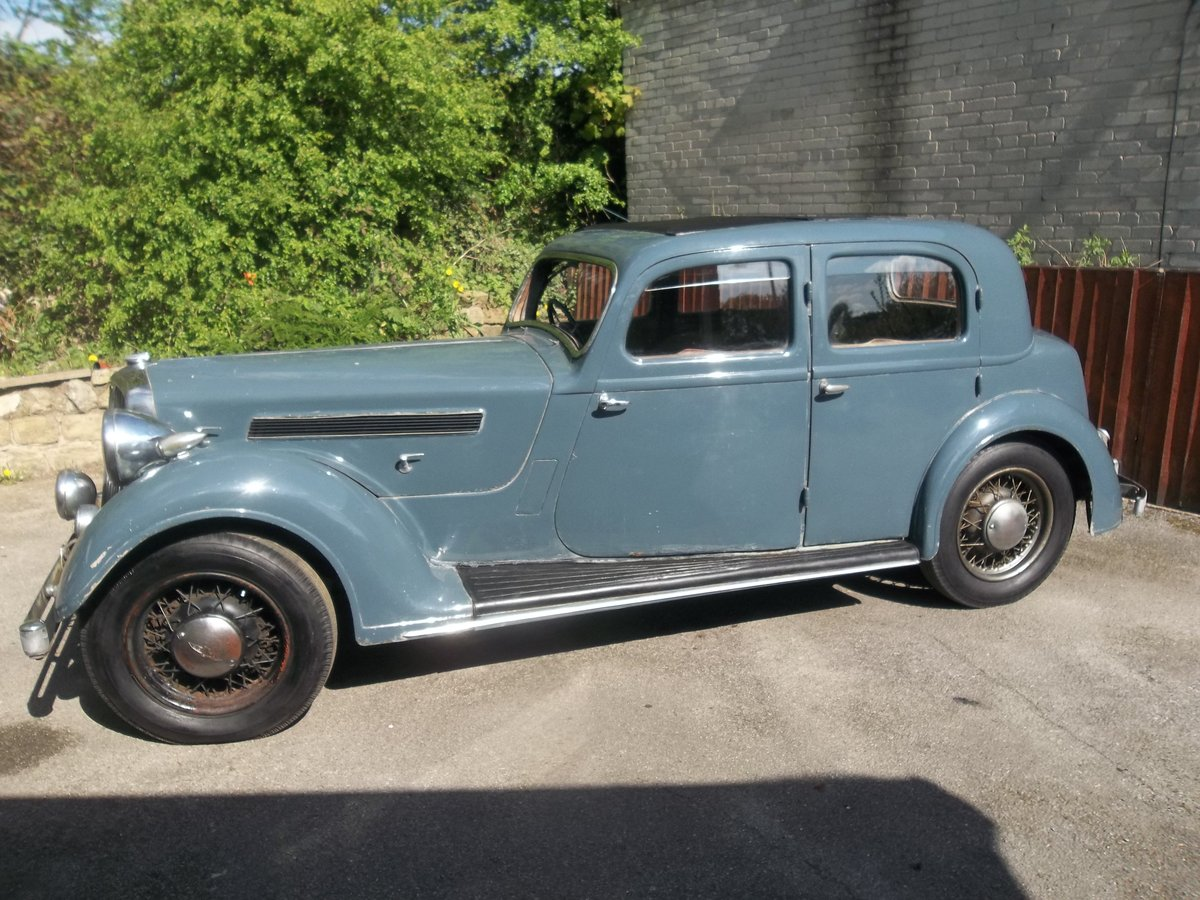 1937 Rover Speed 20 For Sale (picture 3 of 6)