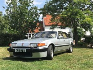 1986 Rover SD1 Vitesse Twin Plenum £7,000 - £9,000  For Sale by Auction