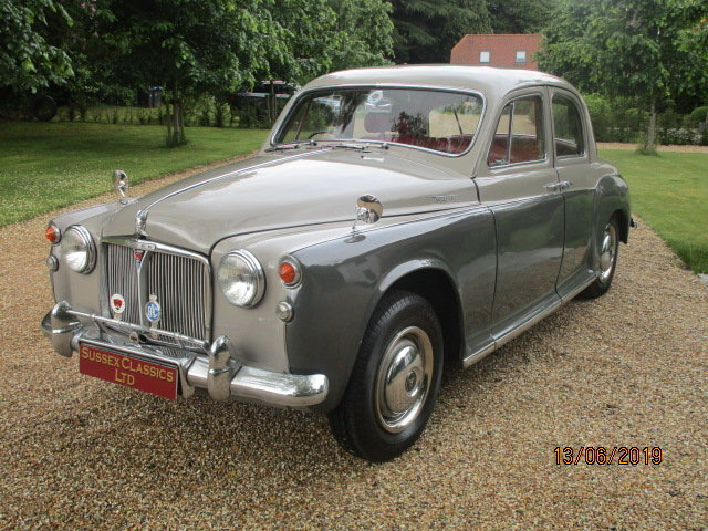 1960 Rover P4 100 (Card Payments Accepted & Delivery) SOLD (picture 1 of 6)
