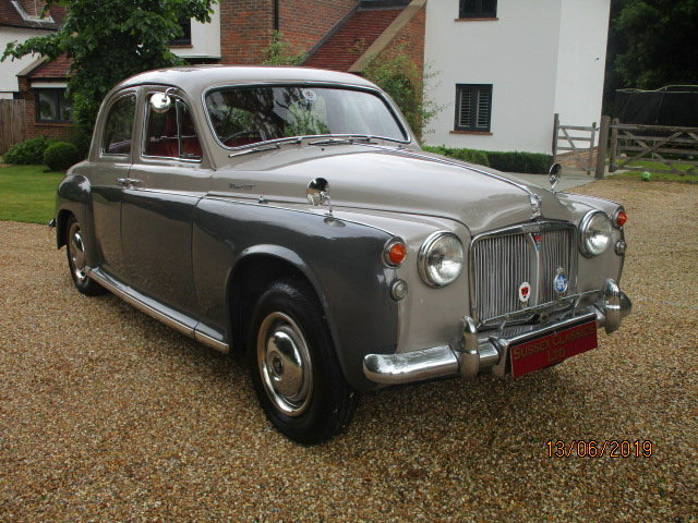 1960 Rover P4 100 (Card Payments Accepted & Delivery) SOLD (picture 3 of 6)