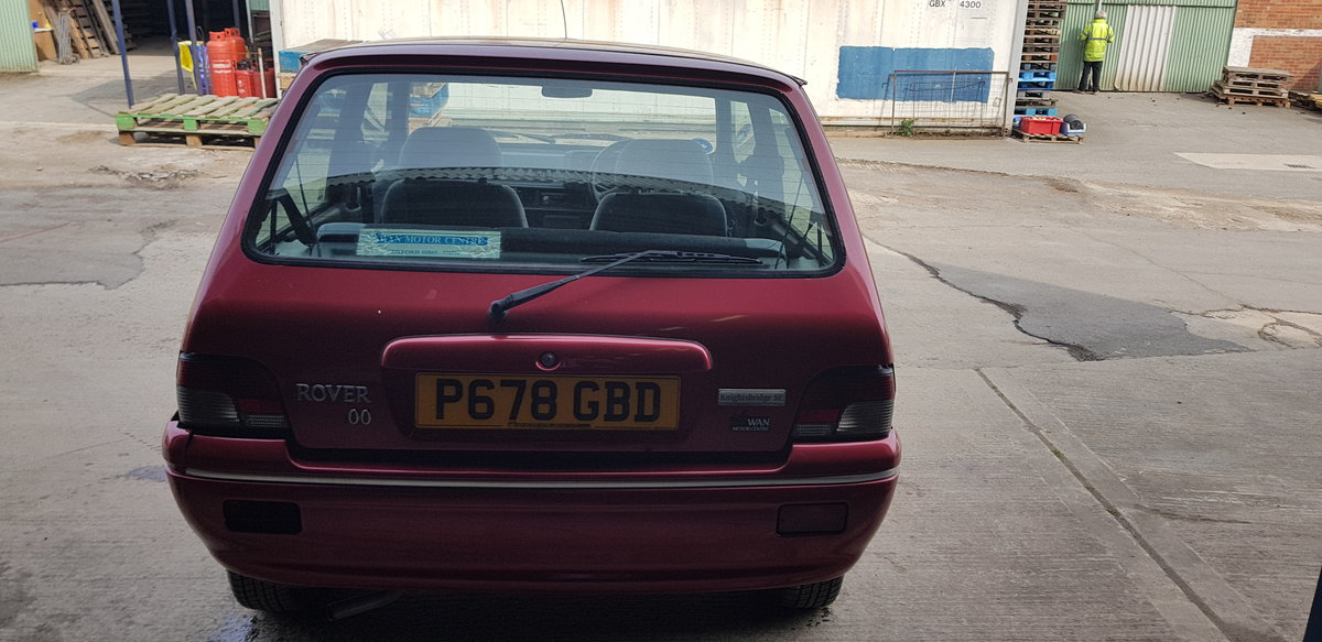 1997 ***Rover 100 Knightsbridge SE July 20th*** For Sale by Auction (picture 4 of 6)