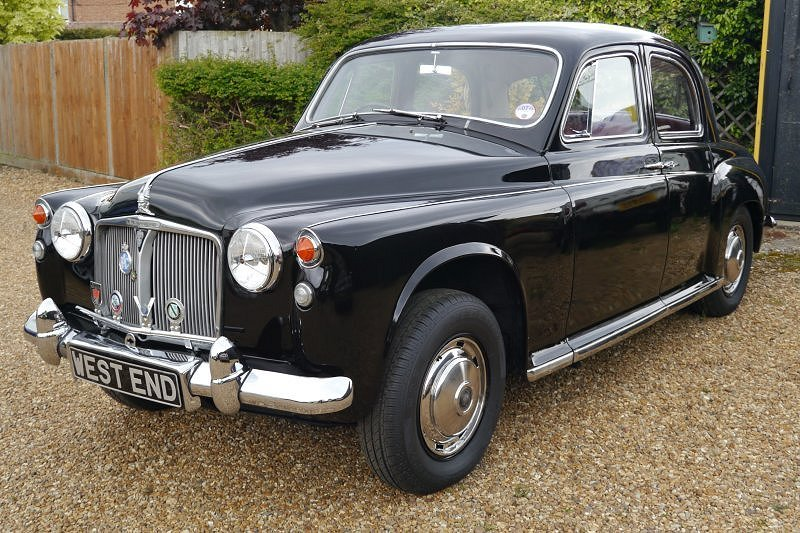 Rover P4 80 2286cc With Overdrive 1962 For Sale (picture 1 of 6)