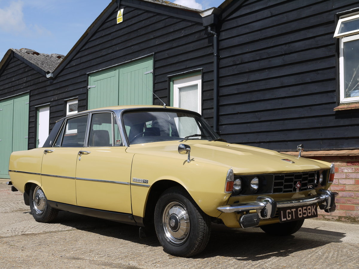 1972 ROVER P6 2000TC - 82K MILES AND 3 OWNERS FROM NEW !! SOLD (picture 1 of 6)