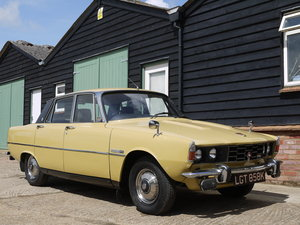 1972 ROVER P6 2000TC - 82K MILES AND 3 OWNERS FROM NEW !! SOLD