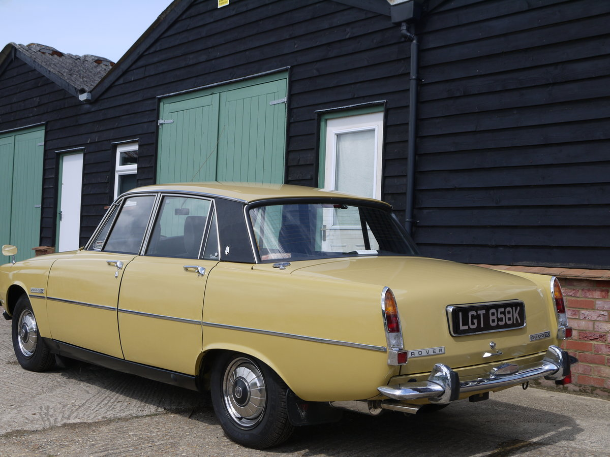 1972 ROVER P6 2000TC - 82K MILES AND 3 OWNERS FROM NEW !! SOLD (picture 2 of 6)