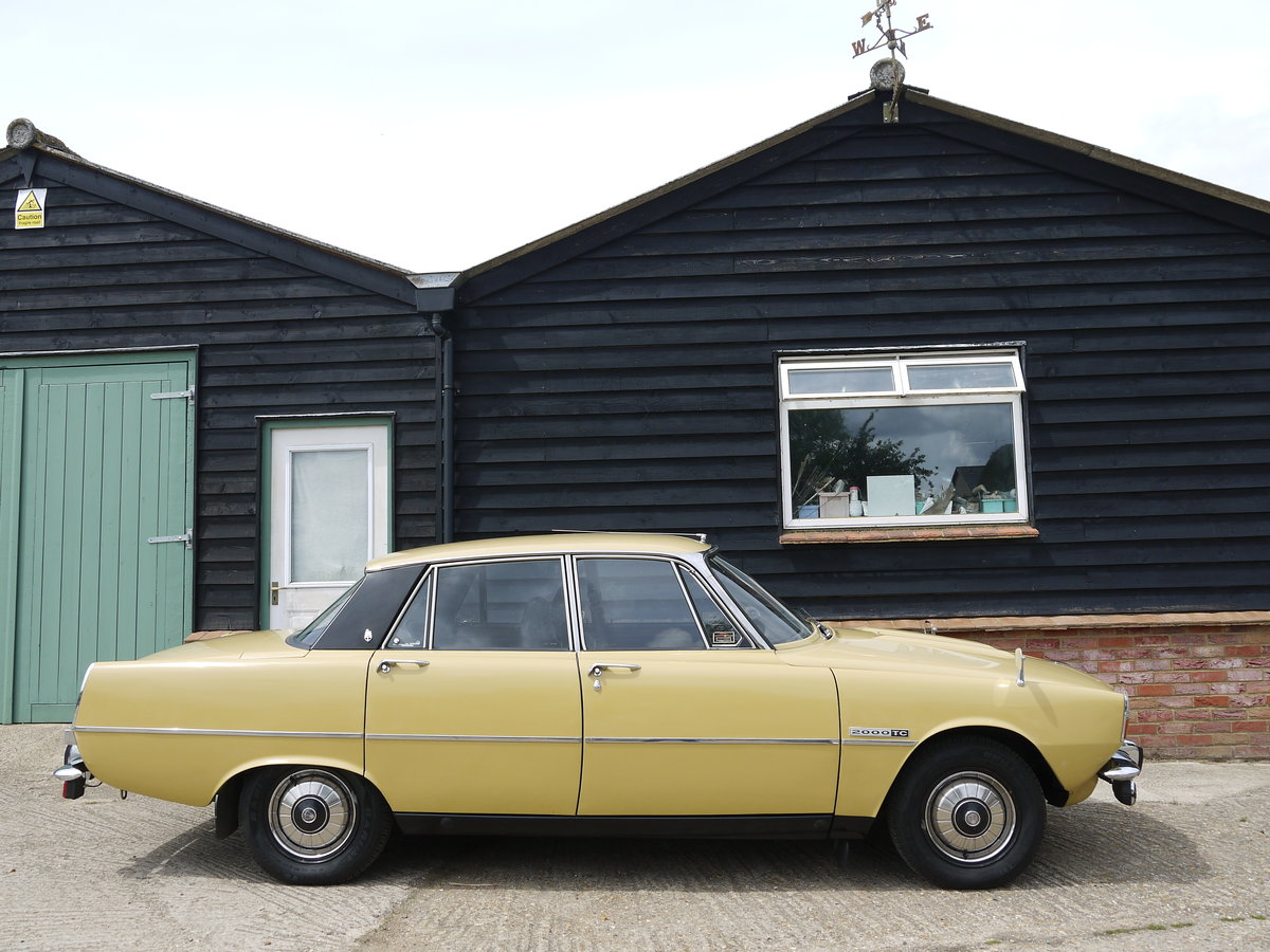 1972 ROVER P6 2000TC - 82K MILES AND 3 OWNERS FROM NEW !! SOLD (picture 3 of 6)