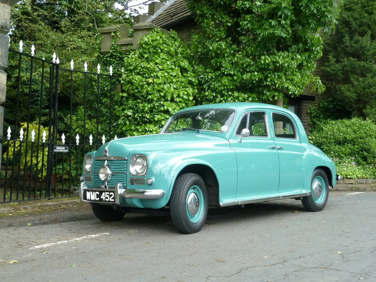 1951 ROVER P4 75 'Cyclops' ~ Rare Car ~  For Sale (picture 1 of 6)