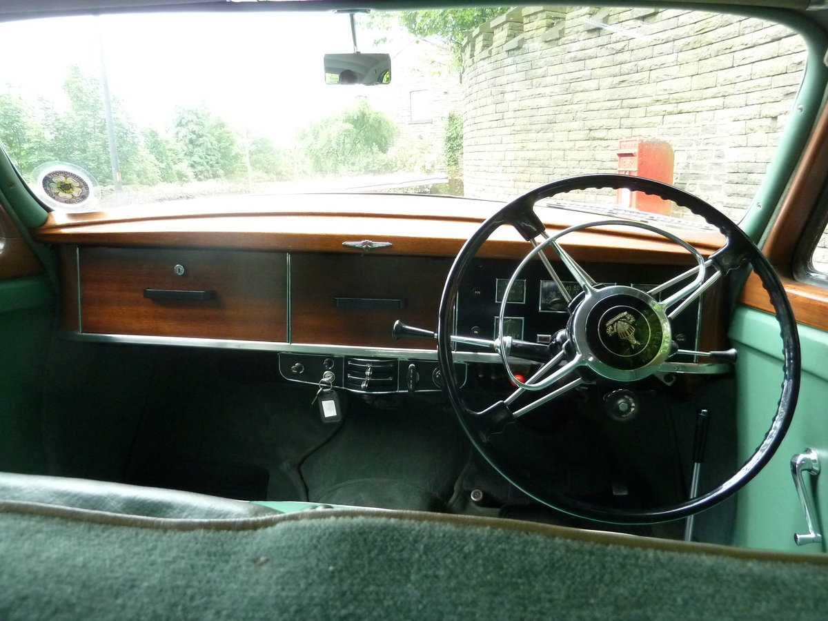 1951 ROVER P4 75 'Cyclops' ~ Rare Car ~  For Sale (picture 3 of 6)