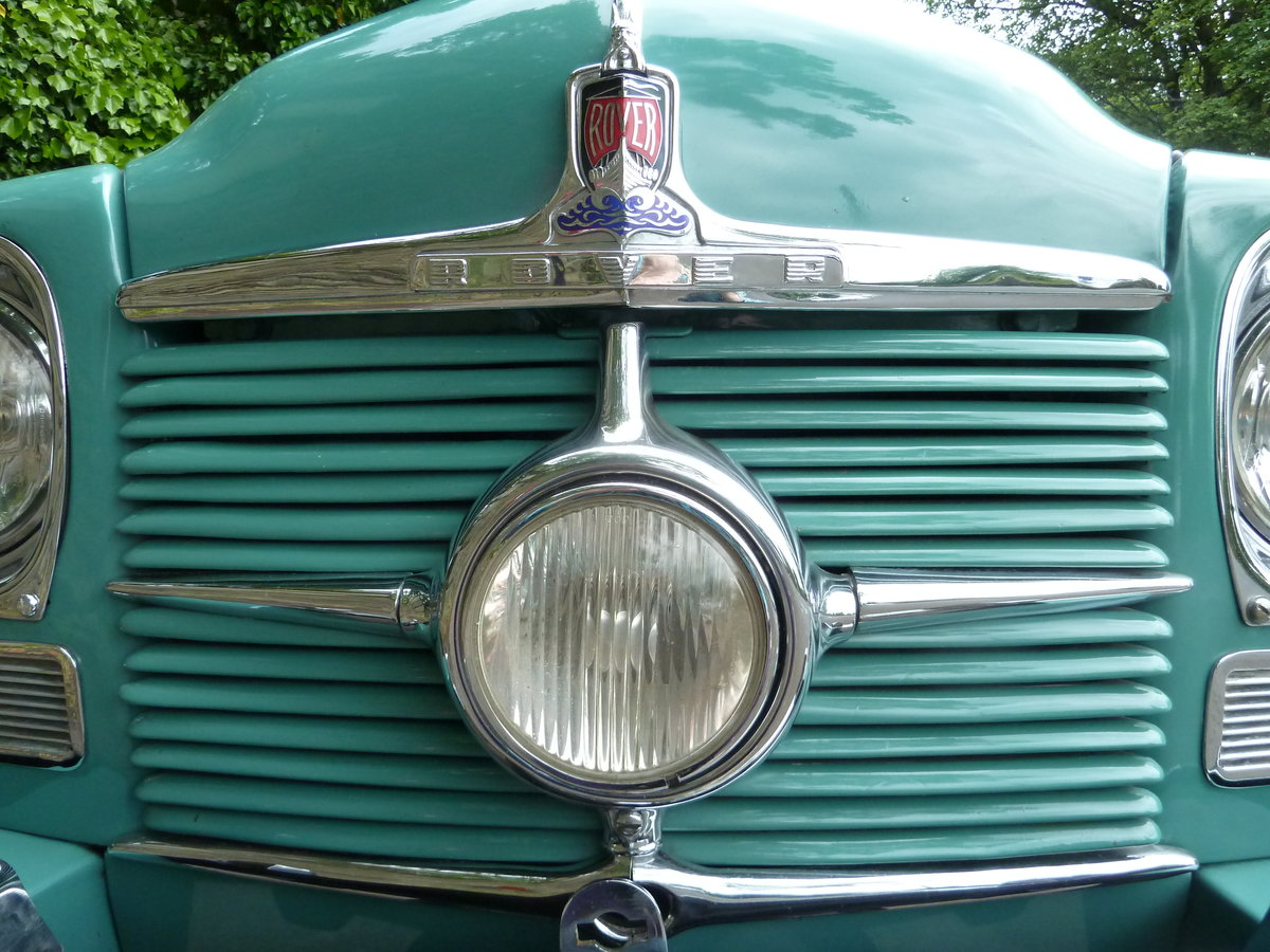 1951 ROVER P4 75 'Cyclops' ~ Rare Car ~  For Sale (picture 6 of 6)