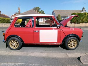 1991 Retro Rallye Mini Cooper 60's Style For Sale