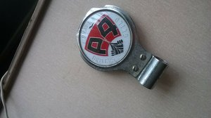 1960 ROVER P4 OWNERS CLUB BADGE  For Sale