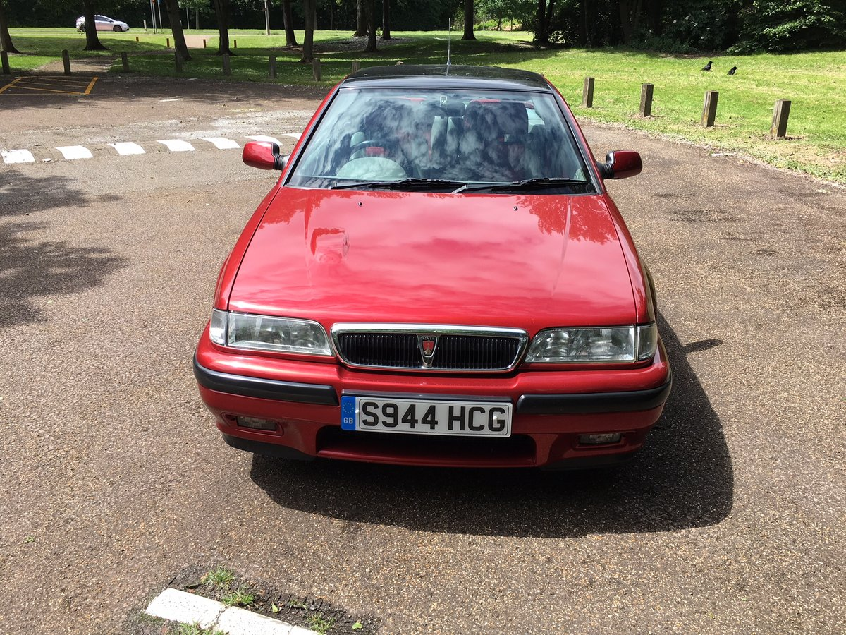 1998 Rover 218VVC Coupe - Just 30K miles! For Sale (picture 2 of 6)