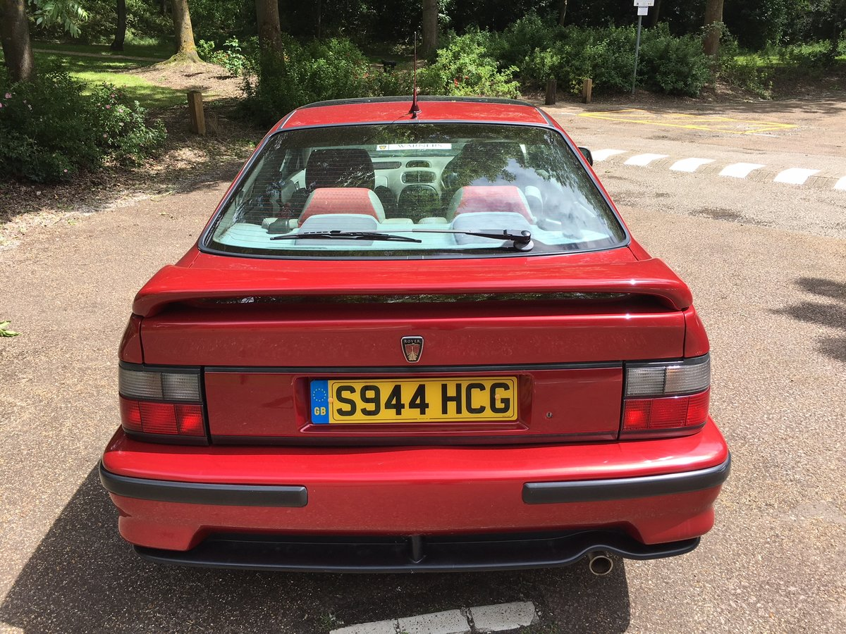1998 Rover 218VVC Coupe - Just 30K miles! For Sale (picture 3 of 6)