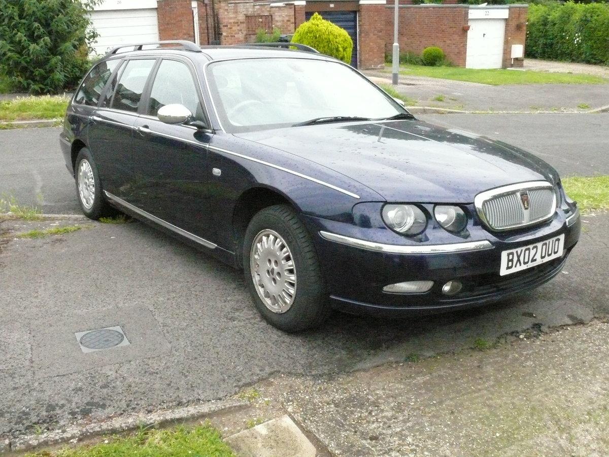 2002 Rover 75 Sovereign Connoisseur SE, 2.5L, V6, For Sale (picture 1 of 6)