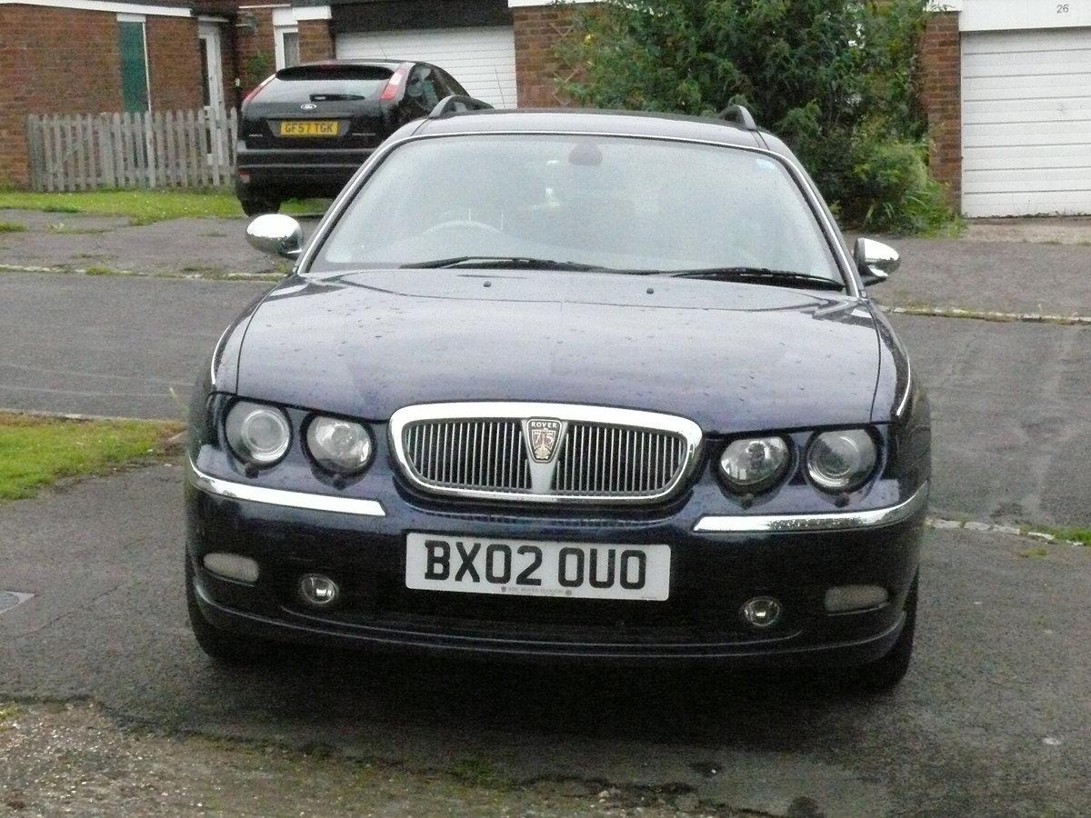 2002 Rover 75 Sovereign Connoisseur SE, 2.5L, V6, For Sale (picture 4 of 6)