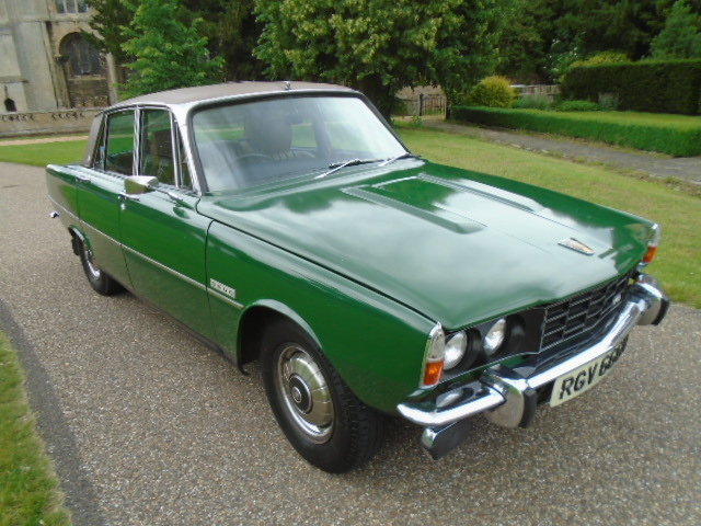 1974 Rover P6 3500 V8 Auto. For Sale (picture 1 of 6)