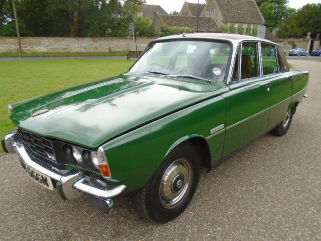 1974 Rover P6 3500 V8 Auto. For Sale (picture 2 of 6)