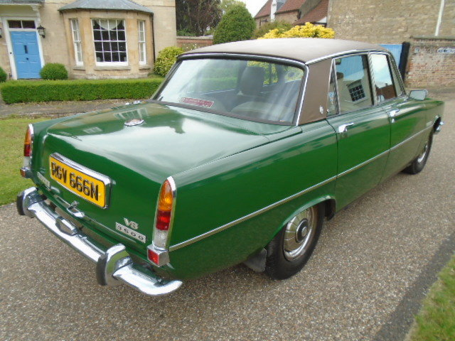 1974 Rover P6 3500 V8 Auto. For Sale (picture 3 of 6)