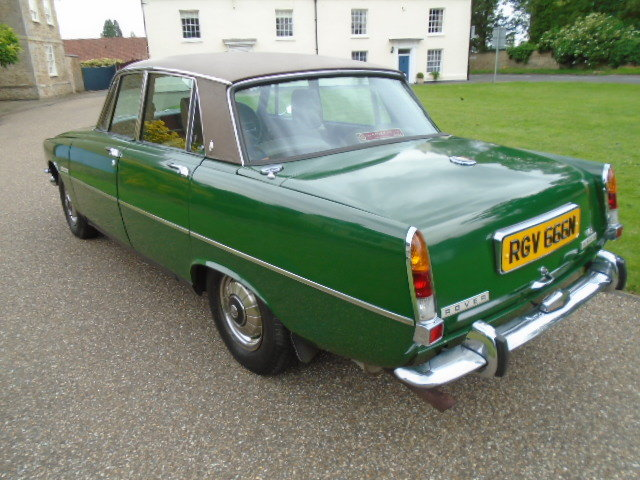 1974 Rover P6 3500 V8 Auto. For Sale (picture 4 of 6)
