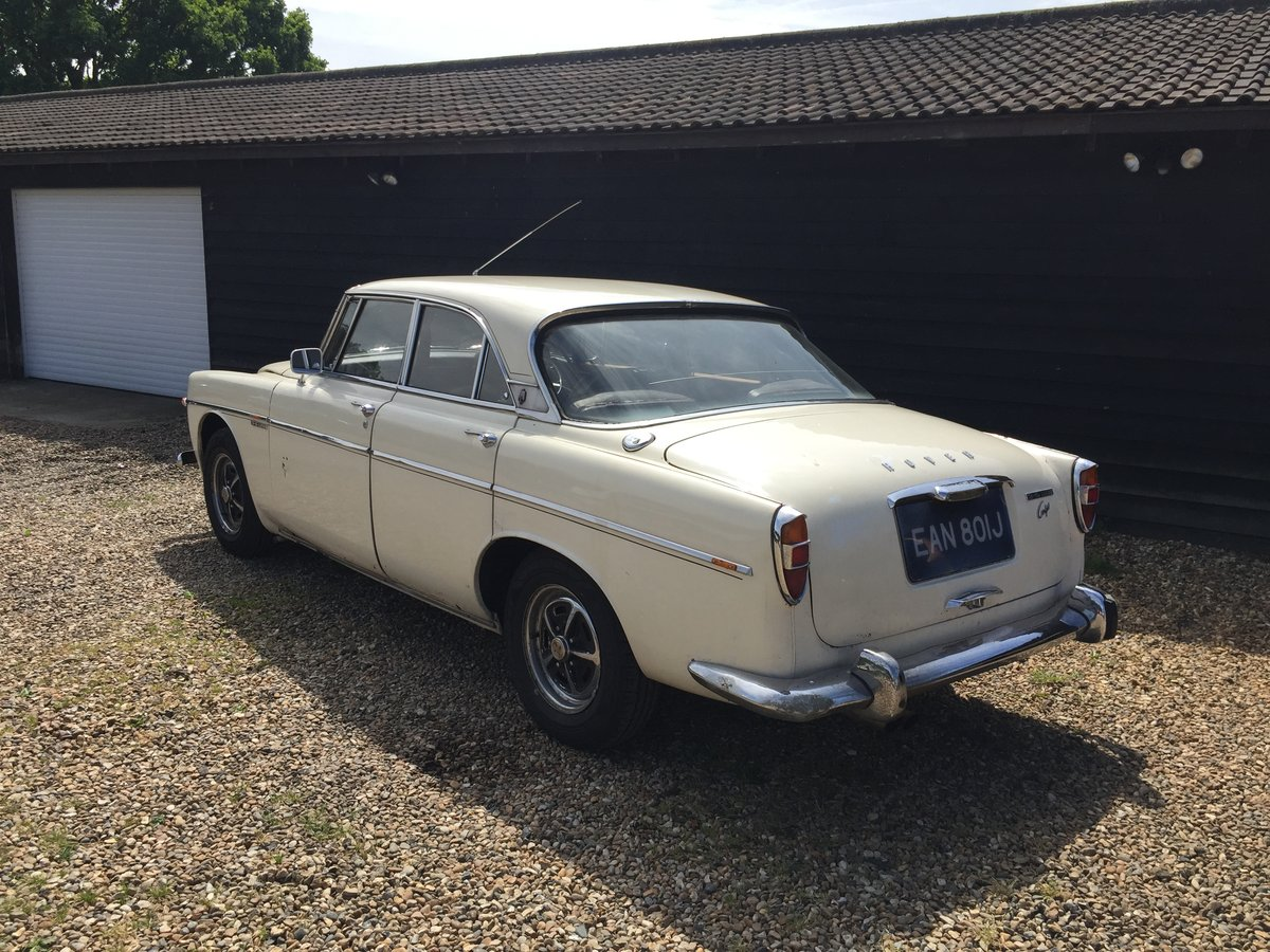 1970 Rover 3.5 V8 P5B Coupe For Sale (picture 5 of 6)