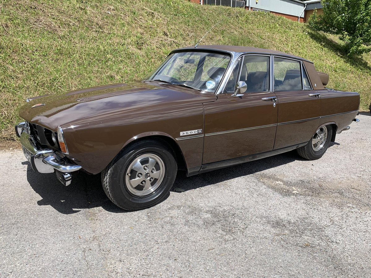 1972 Rover P6 3500 S V8 Manual - Power Steering For Sale (picture 1 of 6)