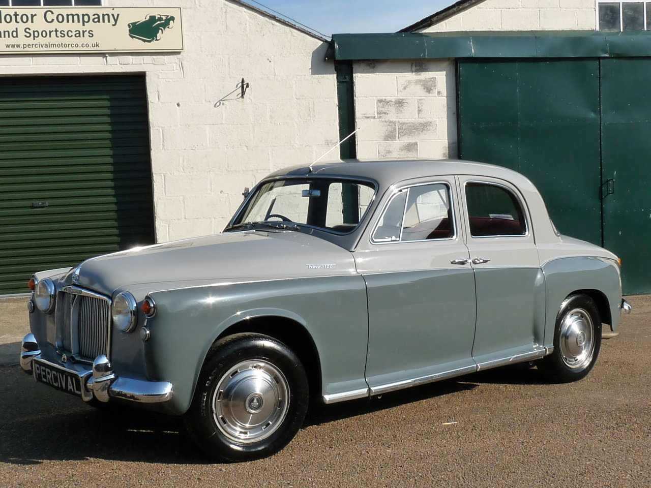 1960 Rover 100 P4, 3.0 litre Rover P5 engine fitted, Sold SOLD (picture 1 of 6)